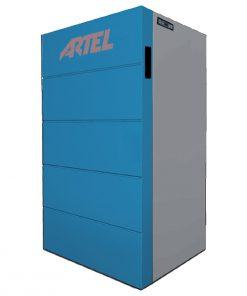 Pelletkachel Compact CV Artel Blauw