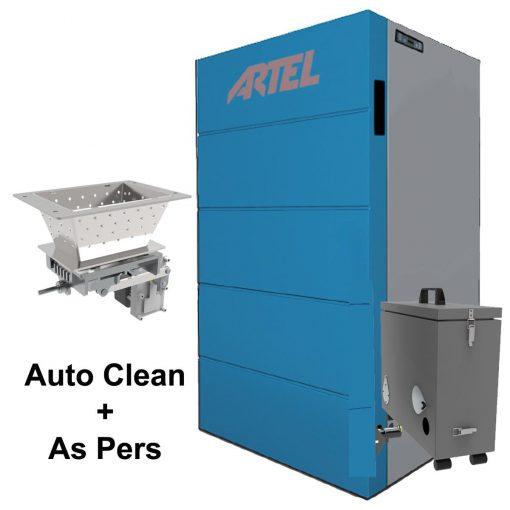 Pelletkachel Artel CV Compat Auto Clean Aspers